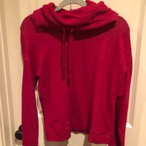 Ralph Lauren Red cowl neck sweatshirt small